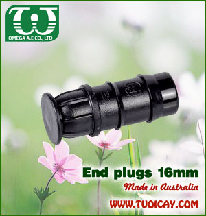 End plugs 16mm
