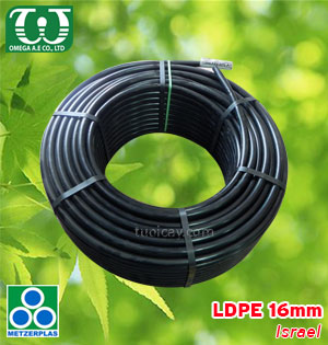 Ống LDPE 16mm (Black) - Israel